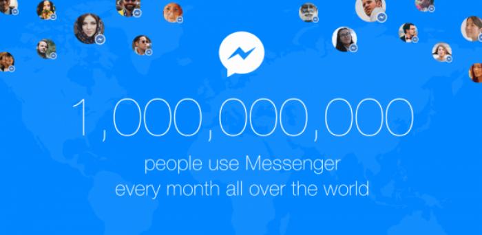 Facebook Messenger atteint le cap du milliard d'utilisateurs