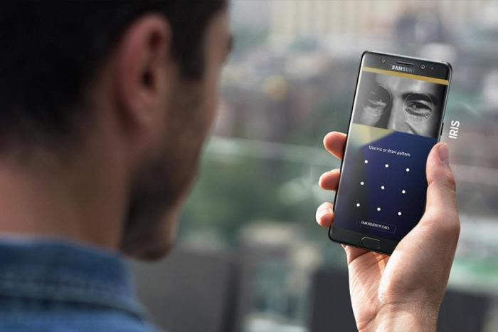 Vidéo Voici comment fonctionne le scanner d-iris du Galaxy Note 7