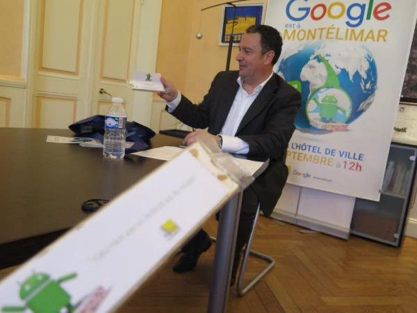 La Ville de Montélimar et son maire, Franck Reynier (UDI) informaticien de formation