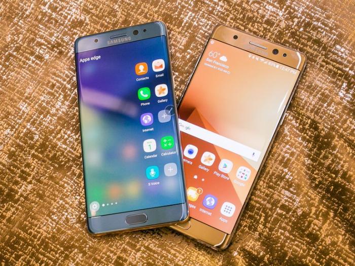 Un rappel des Galaxy Note 7 qui coutera un deficit de pres d-un milliard d-euros