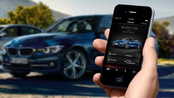 application, My BMW Remote App qui permet de prendre le contrôle de son véhicule.