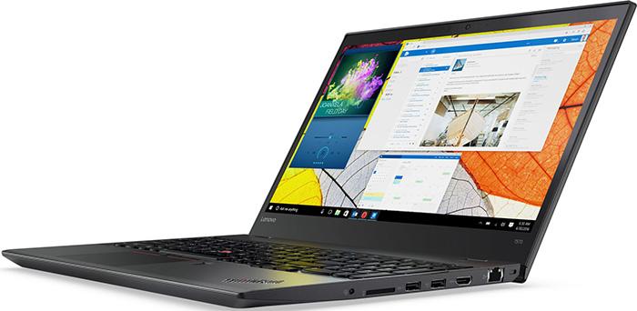 Lenovo ThinkPad T570 de 15,6 pouces avec une autonomie de 16 heures.