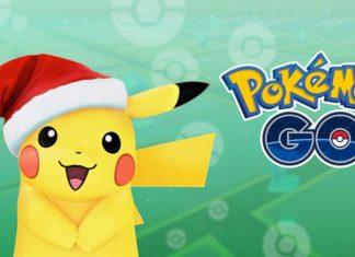 Pokemon Go mise du jeu avec de nouvelles personnages pour Noel