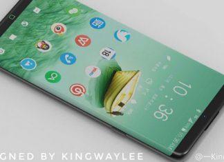 KingwayLee un designer dessine le prochain Galaxy S8