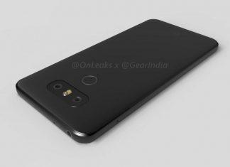 LG G6 un rendu de vidéo 3D dévoile le prochain flagship de LG
