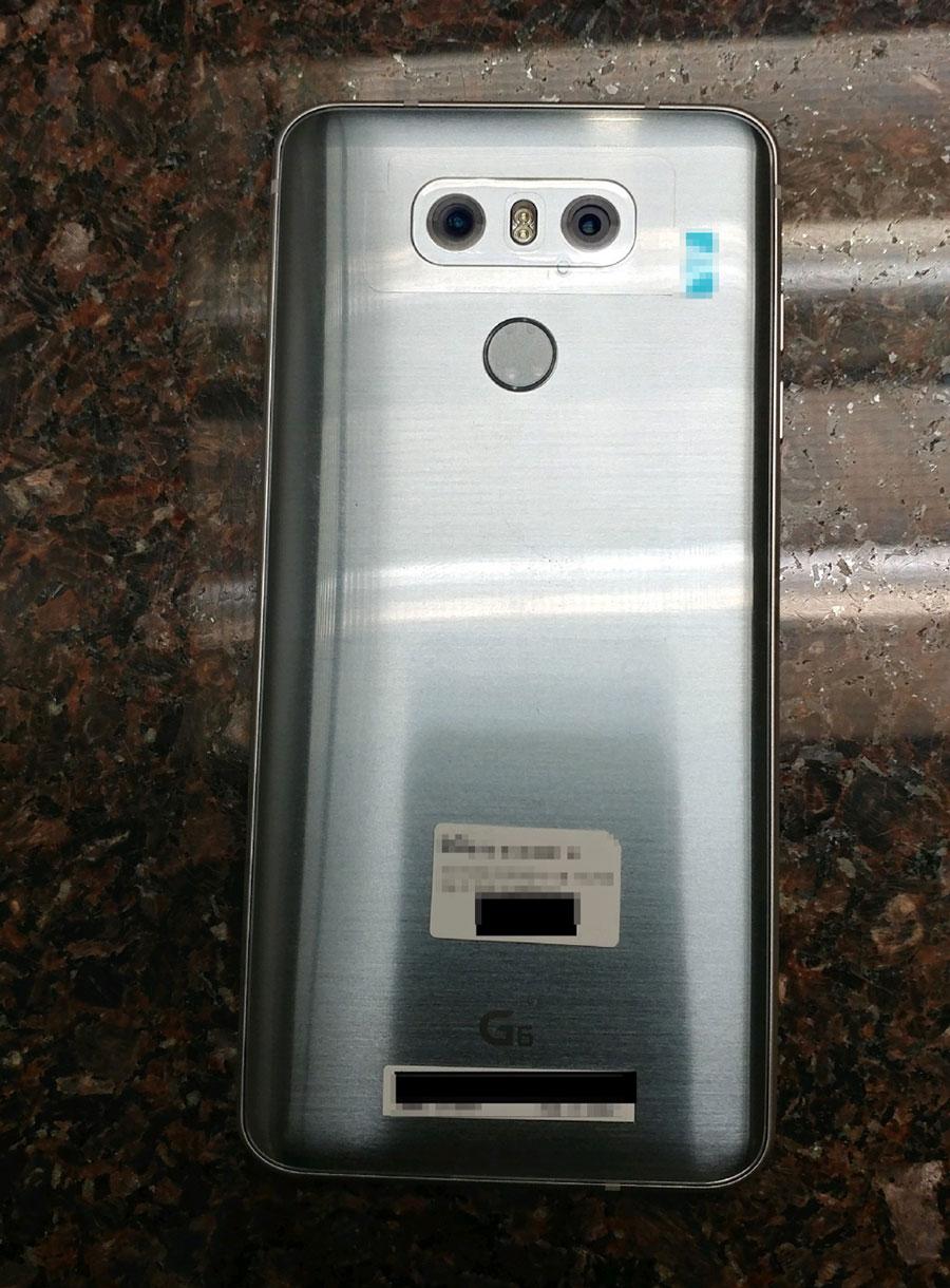 Double capteur photo LG G6