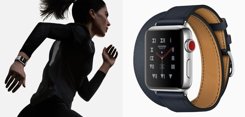 Apple Watch Series 3 4G une montre plus sportive