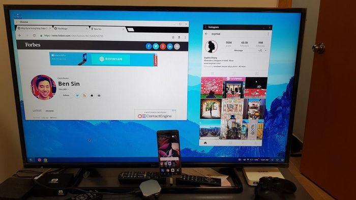 EMUI Desktop le mode PC du Huawei Mate 10 Pro