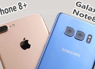 Le Galaxy Note 8 et l'iPhone 8 Plus, les meilleurs photophones selon DxOMark
