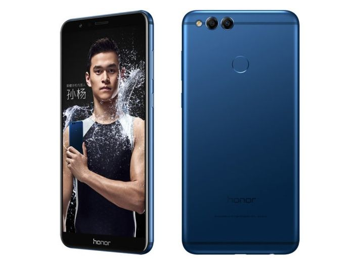 Le premier Smartphone bordeless Honor 7X