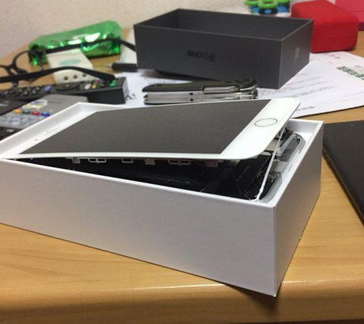 Les batteries des iPhone 8 Plus gonflent et deforme le Smartphone