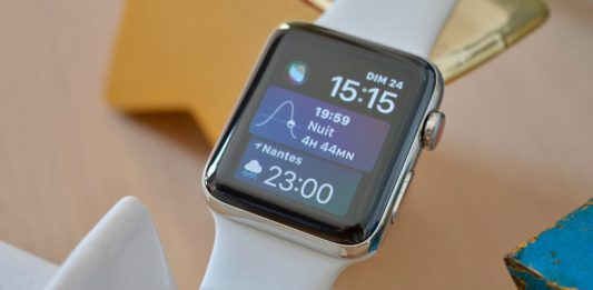 Test de l'Apple Watch Series 3 4G