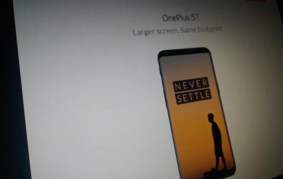 ce a quoi devrait ressembler OnePlus 5T