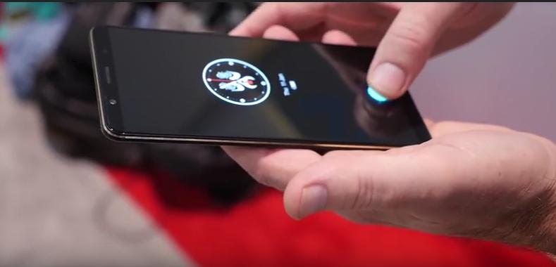 Le lecteur d'empreintes de Vivo met à peu près une demie seconde pour déverrouiller le Smartphone