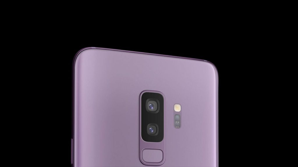 Double capteur photo Galaxy S9.