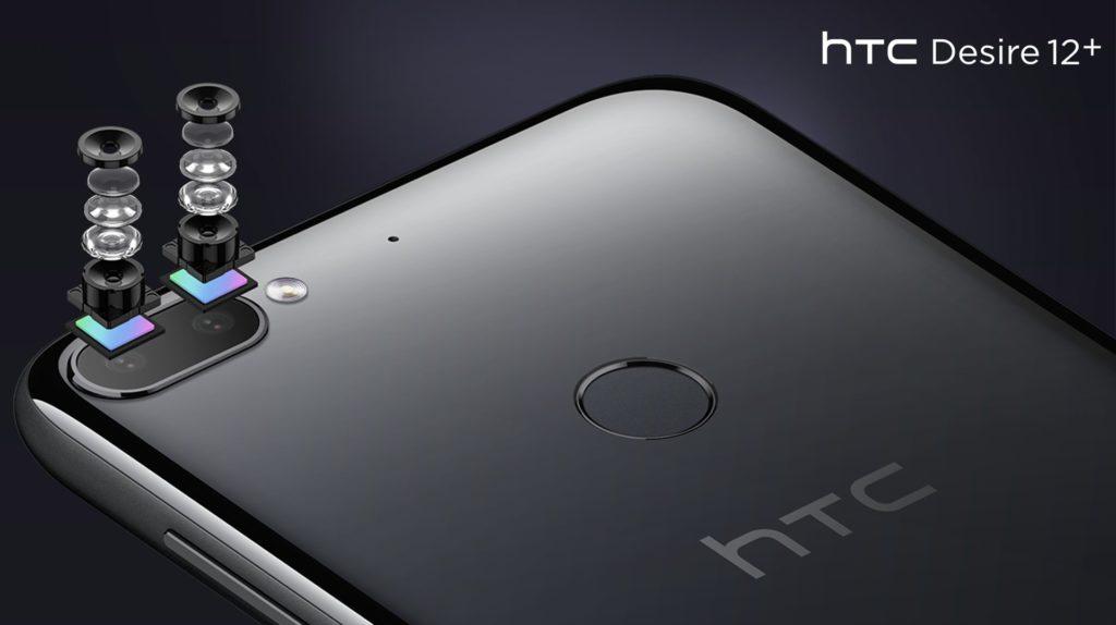 Double capteur photo 13 Mpx + 2 Mpx pour le HTC Desire 12+