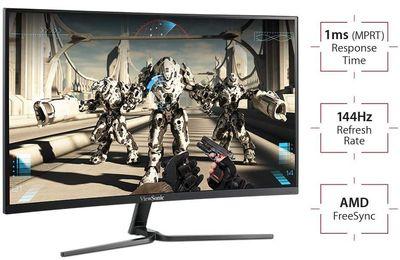 Ecran-ViewSonic-144 Hz-VX2458-ecran-incurve